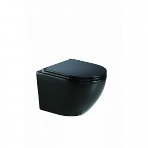 CERAMITA OPERA rimless κρεμαστή λεκάνη 49 cm Black Mat