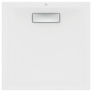 New Ultra Flat Τετράγωνη  Ντουσιέρα  Ideal Standard 80X80X2,5 cm Λευκή T446601