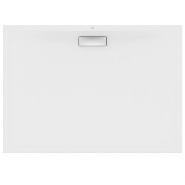 New Ultra Flat Ορθογώνια  Ντουσιέρα  Ideal Standard 100X80X2,5 cm Λευκή T446801