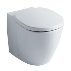 Ειδη Υγιεινης - Connect E711501 Λεκάνη Υψηλής Πίεσης BTW με κάλυμα soft